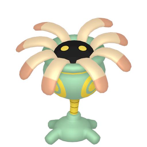 Artwork shiny de Lilia Pokémon Épée et Bouclier