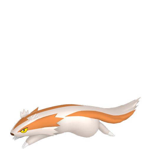 Artwork shiny de Linéon Pokémon Épée et Bouclier