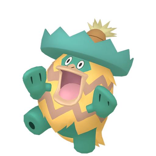 Artwork shiny de Ludicolo Pokémon Épée et Bouclier