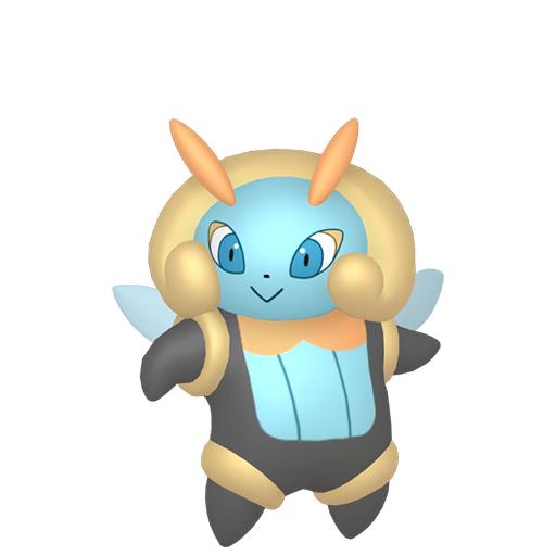 Artwork shiny de Lumivole Pokémon Épée et Bouclier