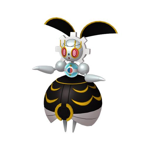 Artwork shiny de Magearna Couleur du Passé Pokémon Épée et Bouclier