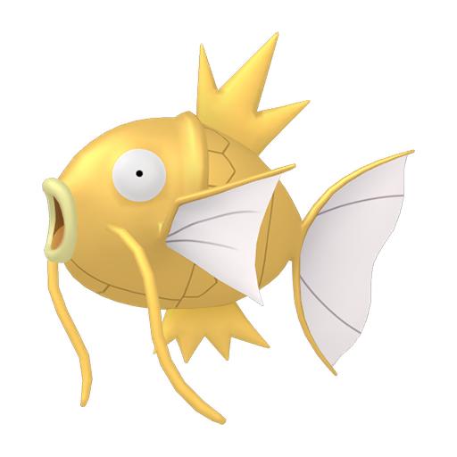 Artwork shiny de Magicarpe Pokémon Épée et Bouclier