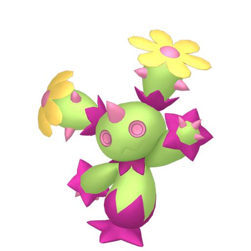Artwork shiny de Maracachi Pokémon Épée et Bouclier