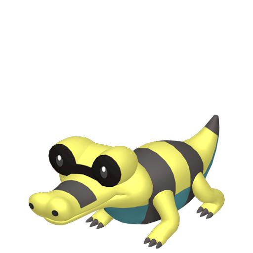 Artwork shiny de Mascaïman Pokémon Épée et Bouclier
