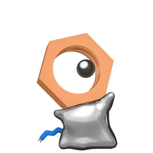 Artwork shiny de Meltan Pokémon Épée et Bouclier
