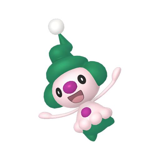Artwork shiny de Mime Jr. Pokémon Épée et Bouclier