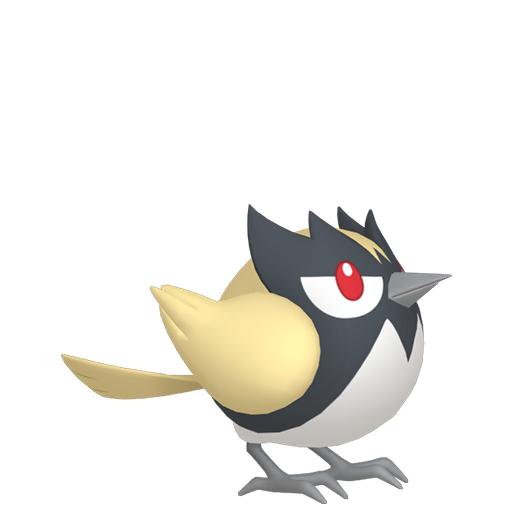 Artwork shiny de Minisange Pokémon Épée et Bouclier