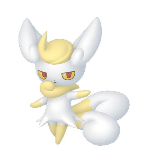 Artwork shiny de Mistigrix Pokémon Épée et Bouclier
