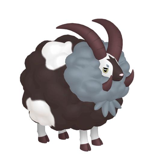 Artwork shiny de Moumouflon Pokémon Épée et Bouclier