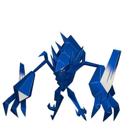 Artwork shiny de Necrozma Pokémon Épée et Bouclier