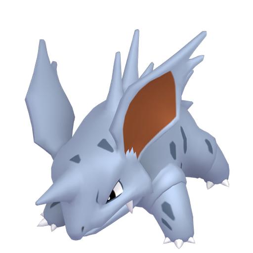 Artwork shiny de Nidorino Pokémon Épée et Bouclier