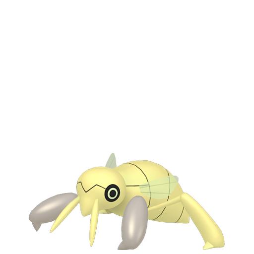 Artwork shiny de Ningale Pokémon Épée et Bouclier