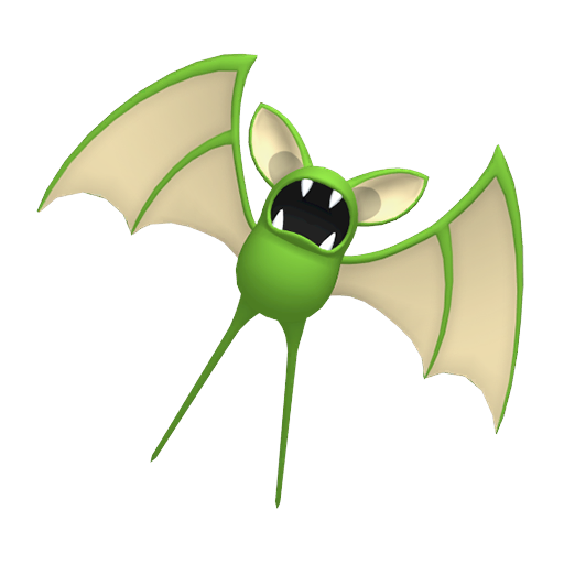 Artwork shiny de Nosferapti Pokémon Épée et Bouclier