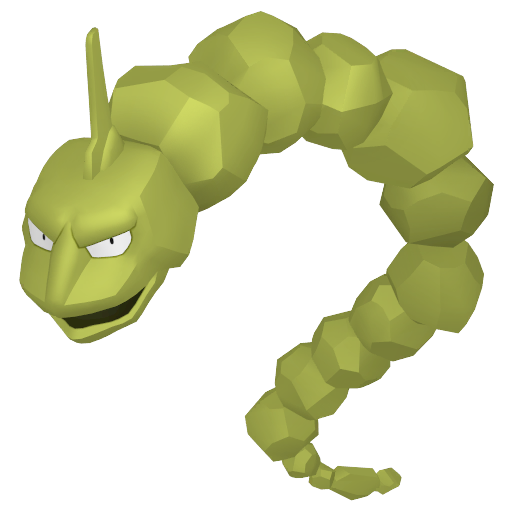 Artwork shiny de Onix Pokémon Épée et Bouclier