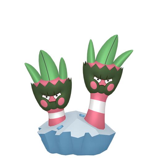 Artwork shiny de Opermine Pokémon Épée et Bouclier