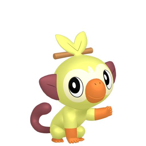 Artwork shiny de Ouistempo Pokémon Épée et Bouclier