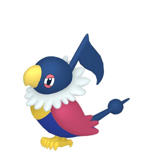 Artwork shiny de Pijako Pokémon Épée et Bouclier