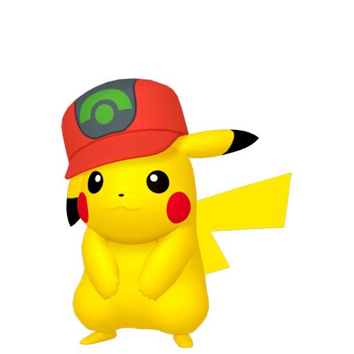 Artwork shiny de Pikachu Casquette Hoenn Pokémon Épée et Bouclier