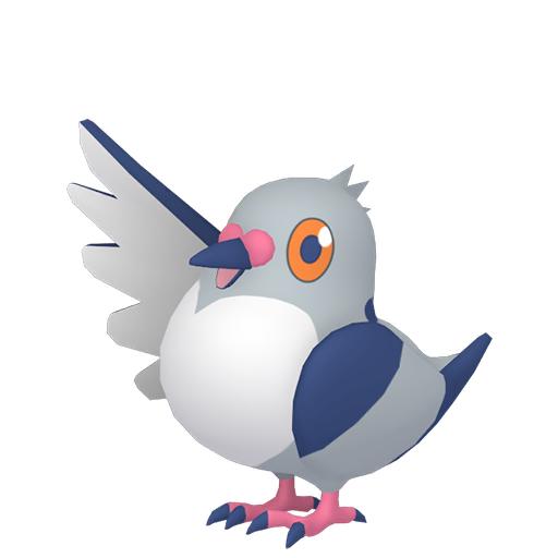 Artwork shiny de Poichigeon Pokémon Épée et Bouclier
