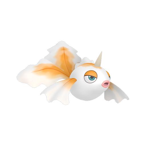 Artwork shiny de Poissirène Pokémon Épée et Bouclier