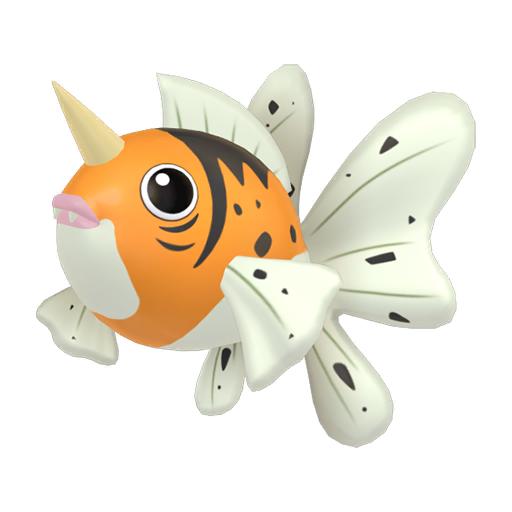 Artwork shiny de Poissoroy Pokémon Épée et Bouclier