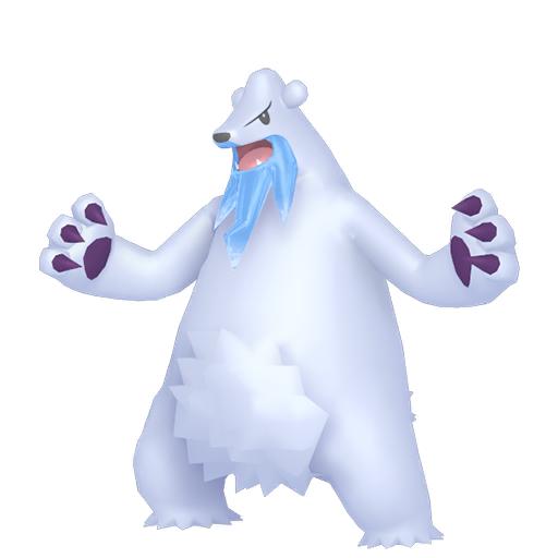 Artwork shiny de Polagriffe Pokémon Épée et Bouclier