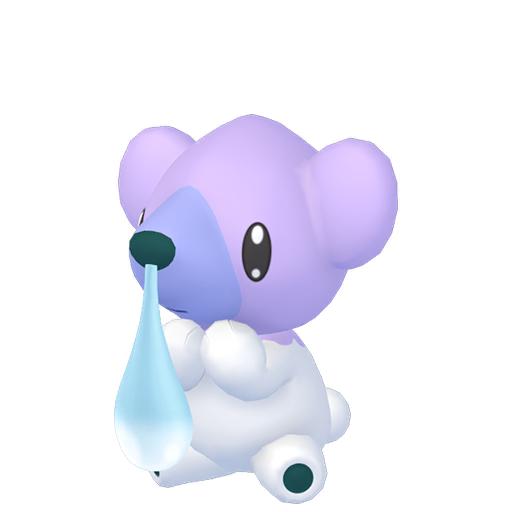 Artwork shiny de Polarhume Pokémon Épée et Bouclier