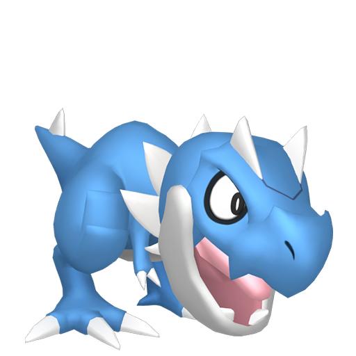 Artwork shiny de Ptyranidur Pokémon Épée et Bouclier