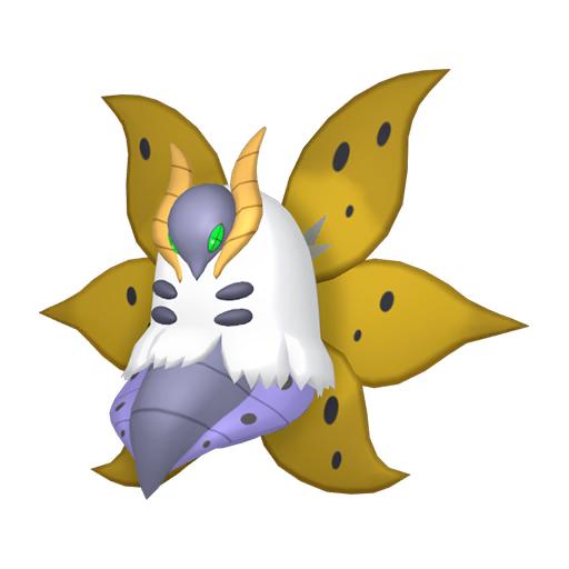 Artwork shiny de Pyrax Pokémon Épée et Bouclier