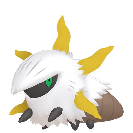 Artwork shiny de Pyronille Pokémon Épée et Bouclier