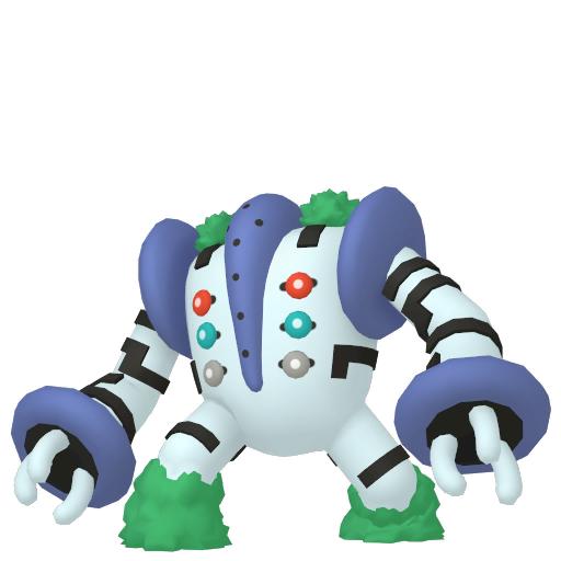 Artwork shiny de Regigigas Pokémon Épée et Bouclier