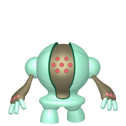Artwork shiny de Registeel Pokémon Épée et Bouclier