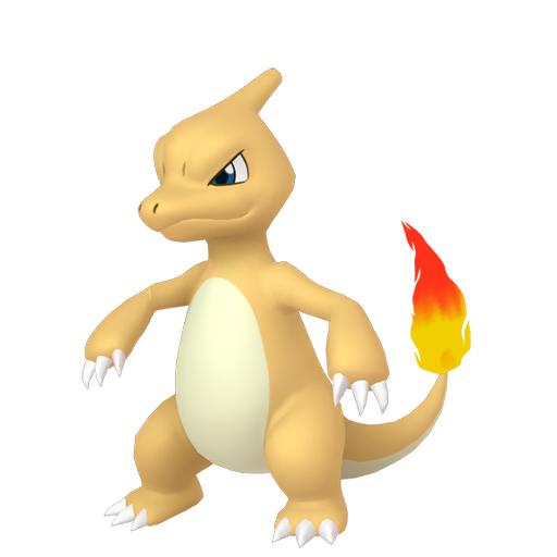 Artwork shiny de Reptincel Pokémon Épée et Bouclier