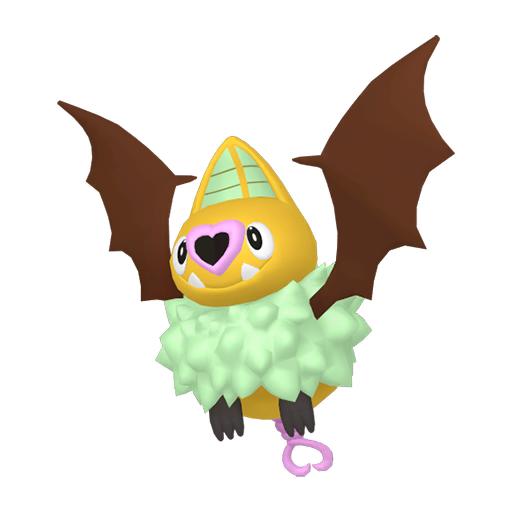 Artwork shiny de Rhinolove Pokémon Épée et Bouclier