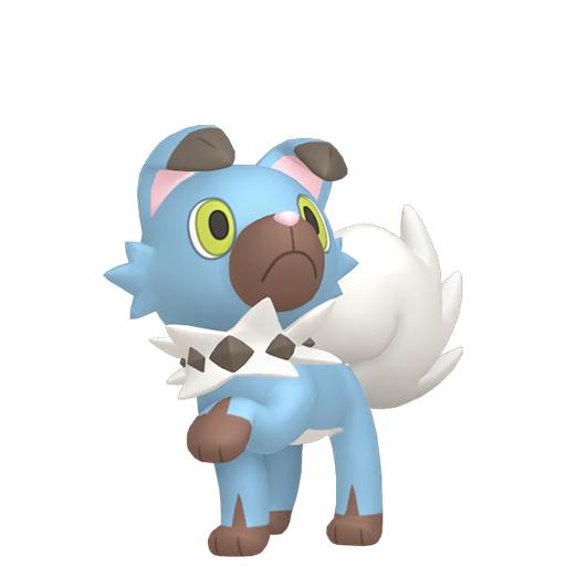 Artwork shiny de Rocabot Pokémon Épée et Bouclier