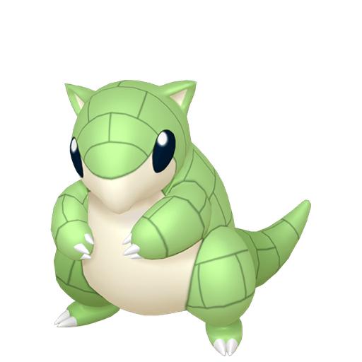 Artwork shiny de Sabelette Pokémon Épée et Bouclier