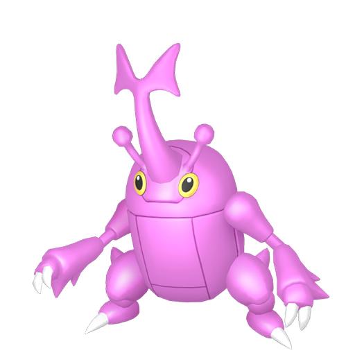 Artwork shiny de Scarhino Pokémon Épée et Bouclier
