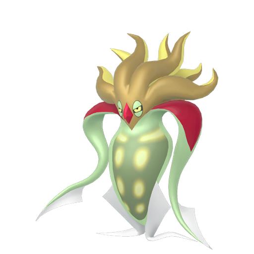 Artwork shiny de Sepiatroce Pokémon Épée et Bouclier