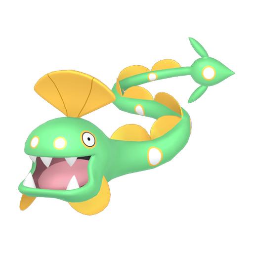 Artwork shiny de Serpang Pokémon Épée et Bouclier