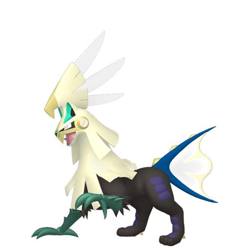Artwork shiny de Silvallié Pokémon Épée et Bouclier