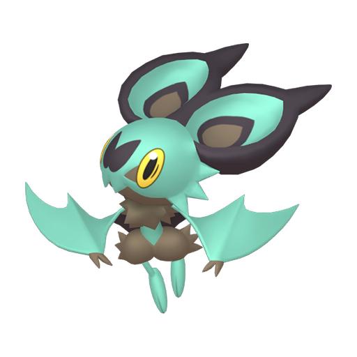 Artwork shiny de Sonistrelle Pokémon Épée et Bouclier