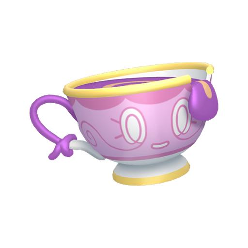 Artwork shiny de Théffroi forme Contrefaçon Pokémon Épée et Bouclier
