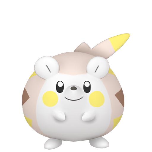 Artwork shiny de Togedemaru Pokémon Épée et Bouclier