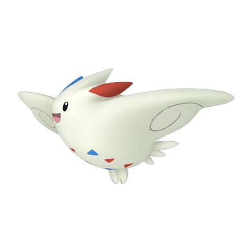 Artwork shiny de Togekiss Pokémon Épée et Bouclier