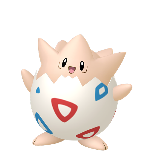 Artwork shiny de Togepi Pokémon Épée et Bouclier