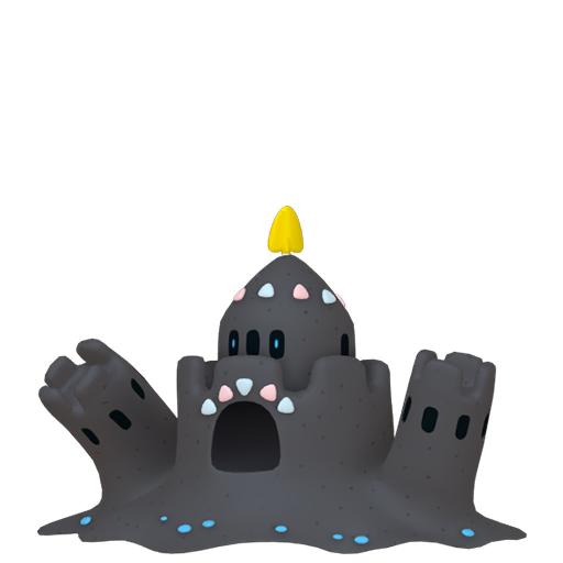 Artwork shiny de Trépassable Pokémon Épée et Bouclier