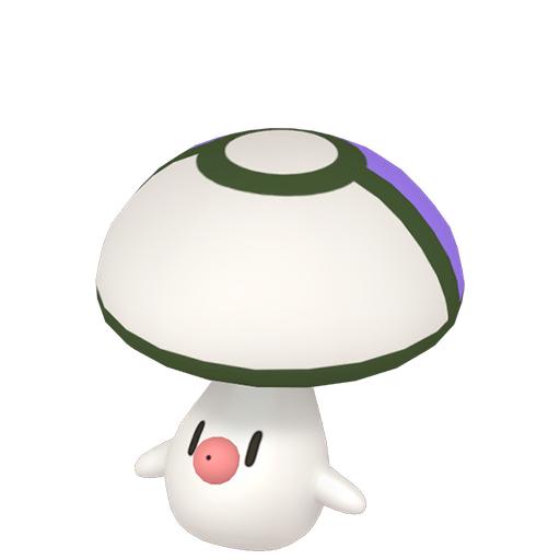 Artwork shiny de Trompignon Pokémon Épée et Bouclier
