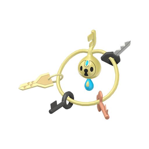 Artwork shiny de Trousselin Pokémon Épée et Bouclier