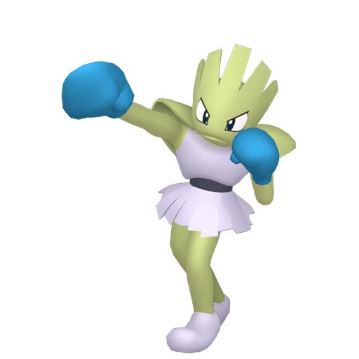 Artwork shiny de Tygnon Pokémon Épée et Bouclier