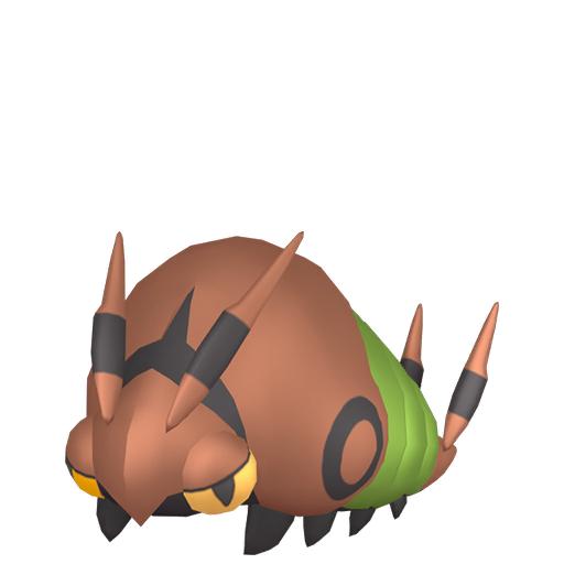 Artwork shiny de Venipatte Pokémon Épée et Bouclier